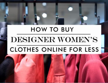 how to buy discount designer women's clothing online
