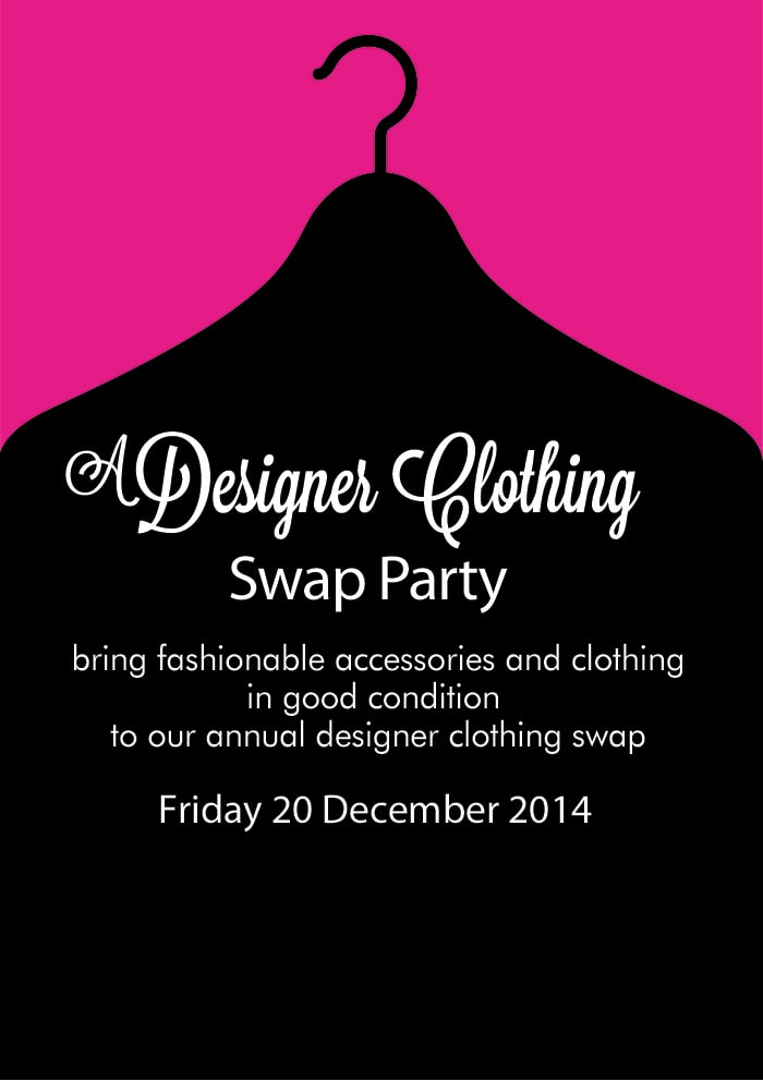 Shopping Tips: How to Have a Designer Clothes Swap Party