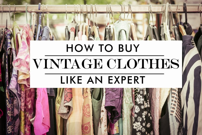 How to Shop for Vintage Clothing Online: 5 Tricks