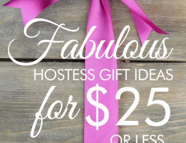 hostess gift ideas under $25