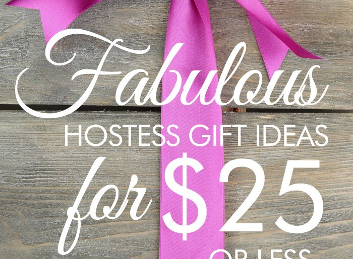 Cheap and Personalized Hostess Gift Ideas Under $25