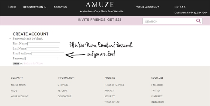 Amuze coupon code