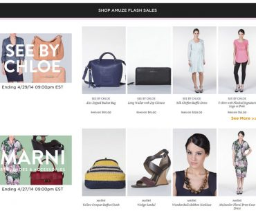 Amuze.com: How to Shop a Flash Sale Site & Score Big Designer Discounts