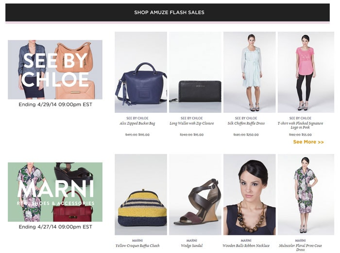 8333e76d4c1 Amuze.com: How to Shop a Flash Sale Site & Score Big Designer Discounts
